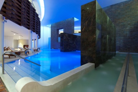 Spas - Hydrotherapy Area