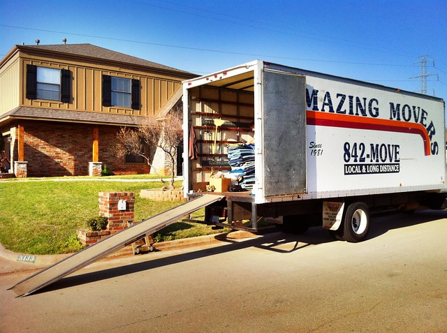 Our moving truck