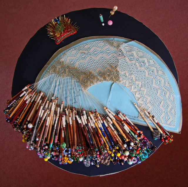 Wifes Bobbin Lace Making Flickr Photo Sharing