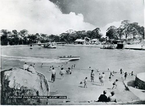 Catalina Park Katoomba c 1950  Notes Looking south