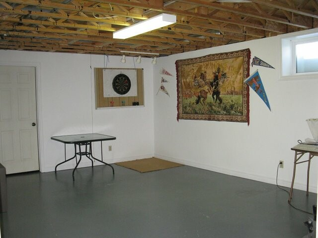Semifinished Playroom In Basement  Flickr  Photo Sharing