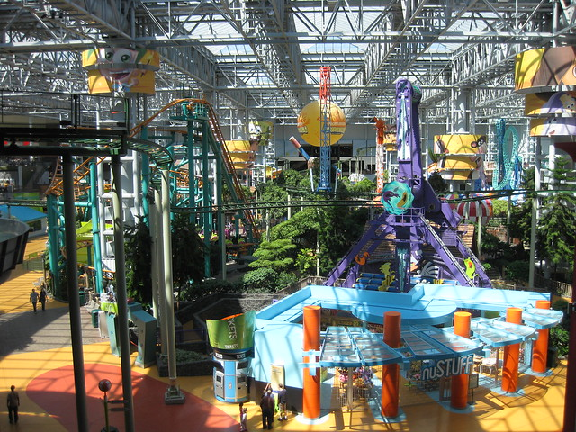 Nickelodeon Universe Amusement Park Inside Mall of America