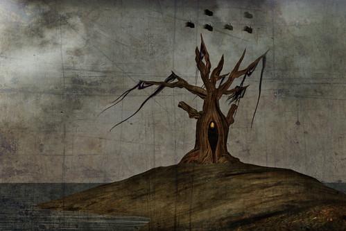 Cocoon tree by CapCat Ragu