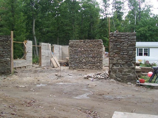 slipform stone house done 3  Flickr  Photo Sharing