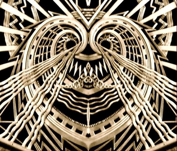 Art Deco Heart Flickr Photo Sharing!