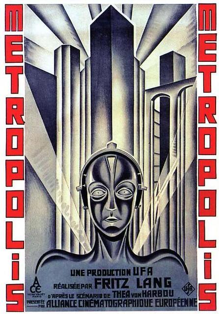Metropolis (1927) Film Poster