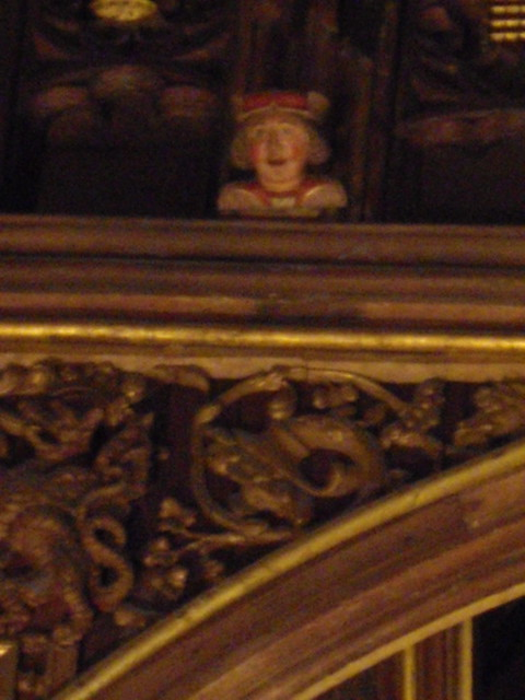 Eavesdroppers In Great Hall At Hampton Court Flickr