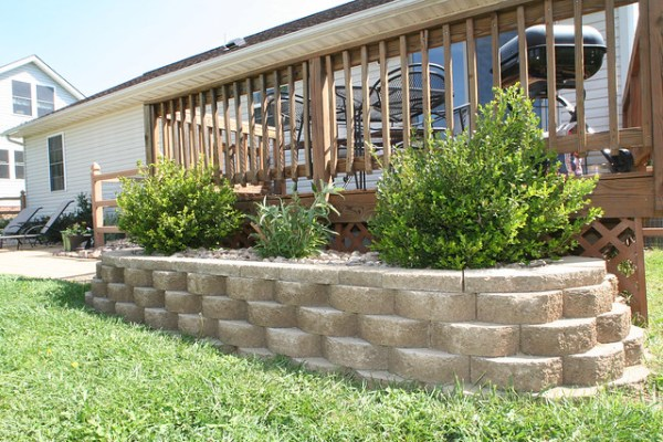 landscaping deck