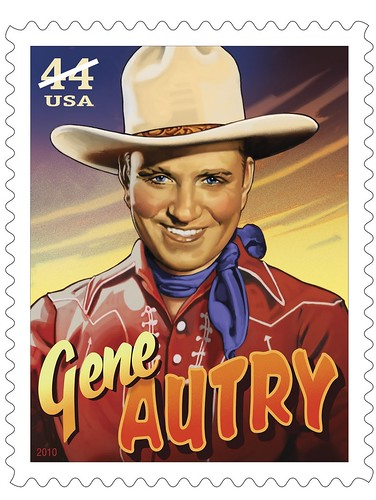 Gene Autry postage stamp (2010)