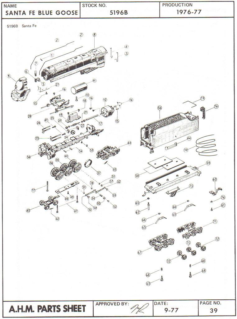 diagram ge locomotives