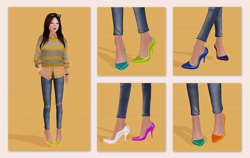 LVLE's new Sorcha Heels