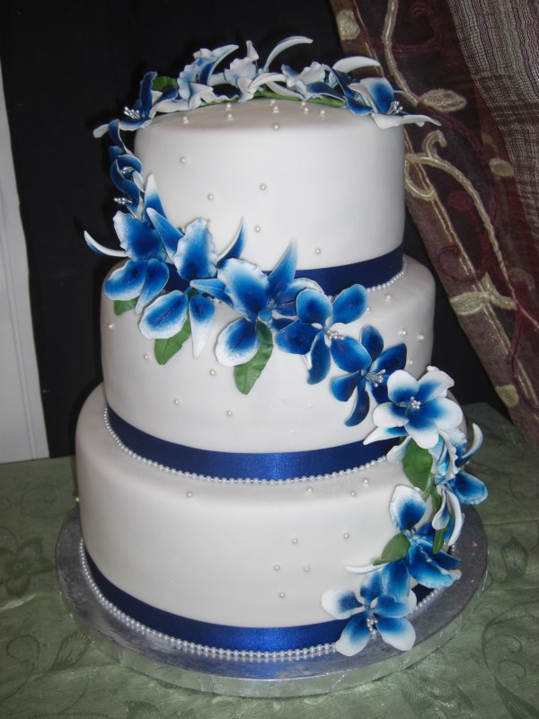 20 Royal Blue Cake Designs Pictures And Ideas On Meta Networks