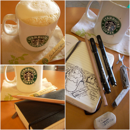 How to 'draw' a perfect Starbucks logo (#1)