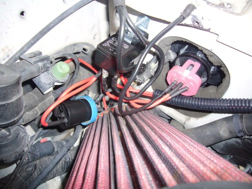 small resolution of drivers side zj upgraded headlight harness