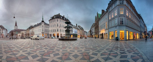 Day and Night at Amager Torv