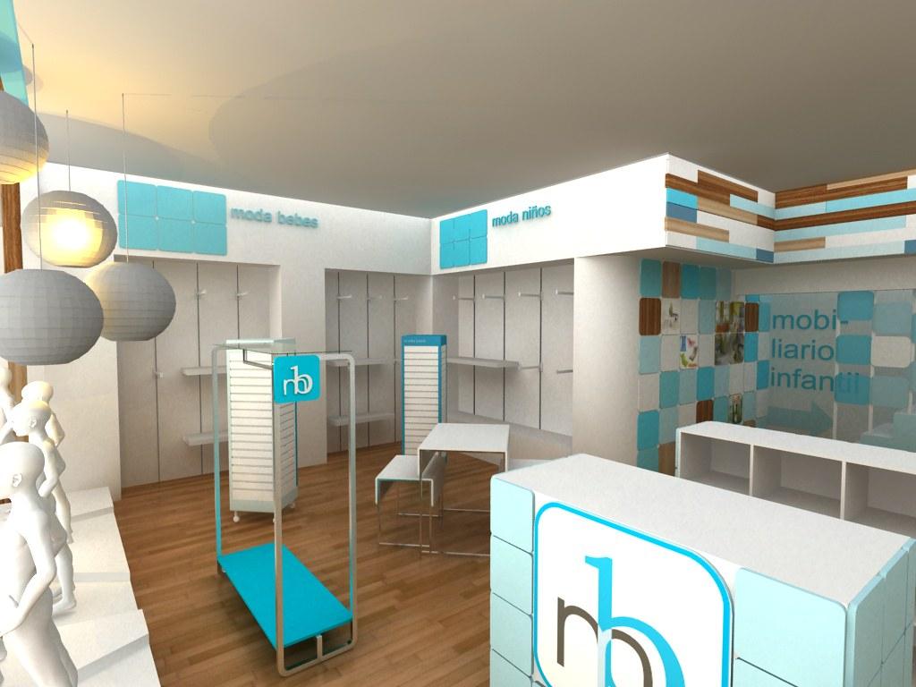 Mobiliario y Ambientacion para Tienda de bebes CUBO3 Concepto de Diseo de Tiendas y Espacios Comerciales  Flickr  Photo Sharing