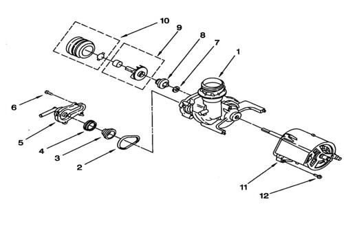 whirlpool du810dwgq1 dishwasher pump and motor diagram flickr