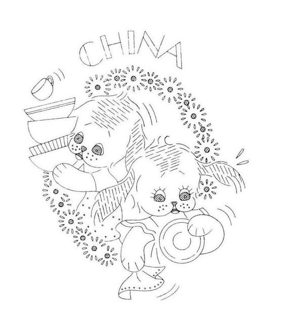 Sliekje Digi Stamps Cute Puppy