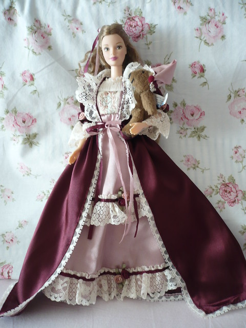 Victorian Barbie With Cedric Bear 2 Flickr Photo Sharing