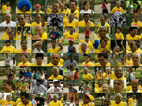 Faces of the Bangalore Sunfeast 10k Marathon
