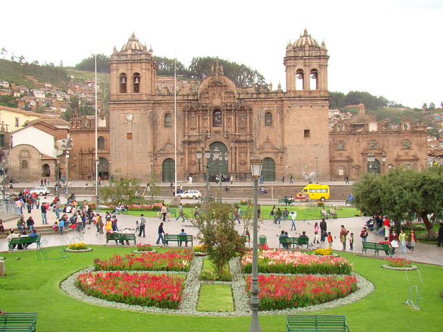 Plaza de Armas - Cuzco -Foto Mariana Martins