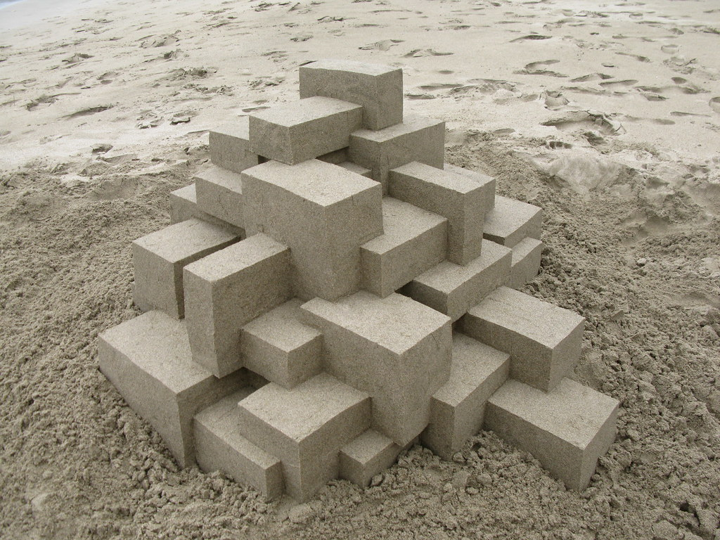 3343486124 62d3c68182 b Geometric Sand Sculptures by Calvin Seibert