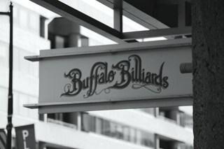 Buffalo Billiards Sign