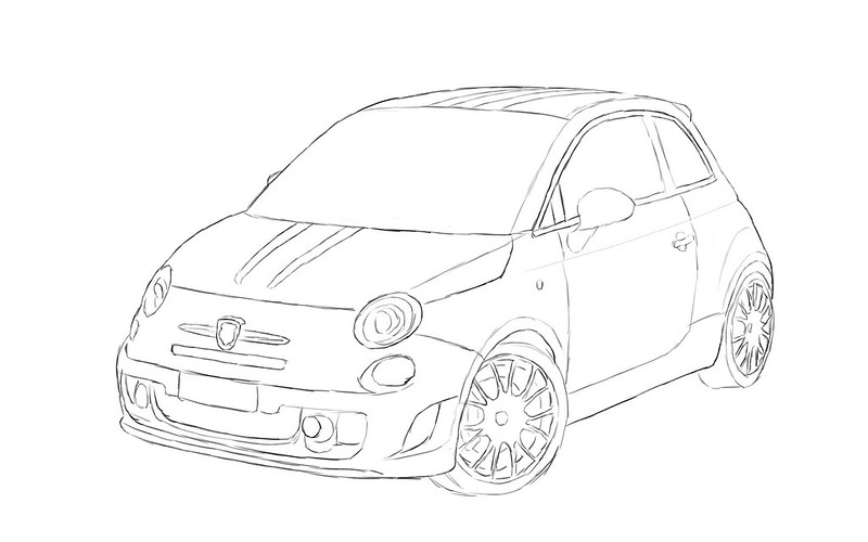 fiat 500 Abarth 1.4 Turbo (2010)