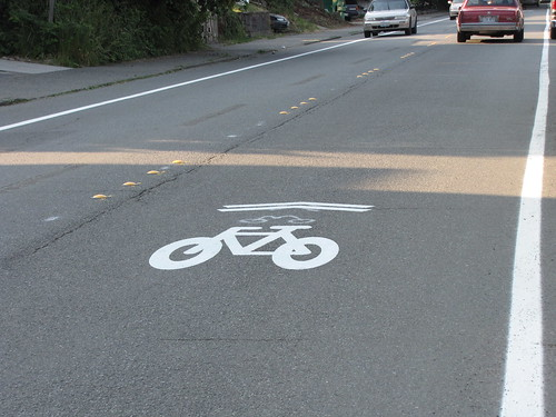 New sharrow on 15th Ave S