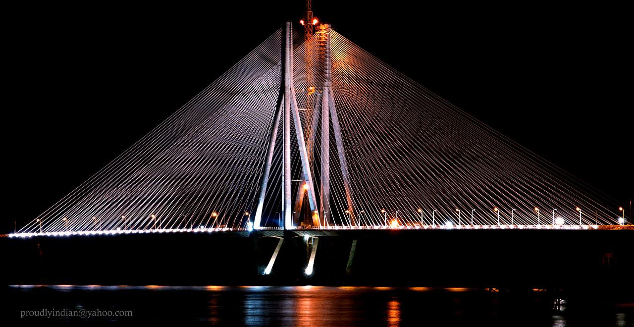 Amit Name Wallpaper Hd Night Shot Of Bandra Worli Sea Link Flickr Photo Sharing