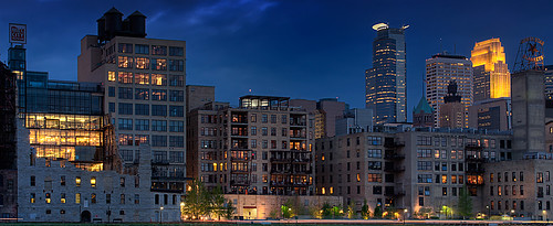 Downtown Minneapolis - Mill City Museum