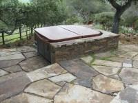 Hot tub paver patio | Flickr - Photo Sharing!