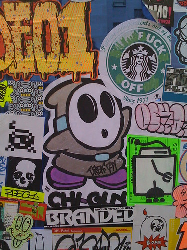 Street - Stickers in Paris