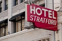 Hotel Stratford Signage Explore Jcwpdx'