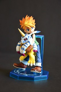 Digimon Adventure: Megahouse figure: Yamato & Gabumon