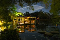 Hill Country Water Garden at Night | Flickr - Photo Sharing!