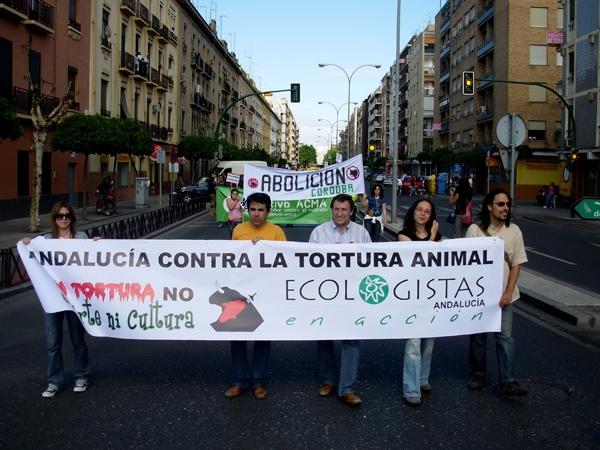 Ecologistas en Acción pide la abolición de la Tauromaquia.