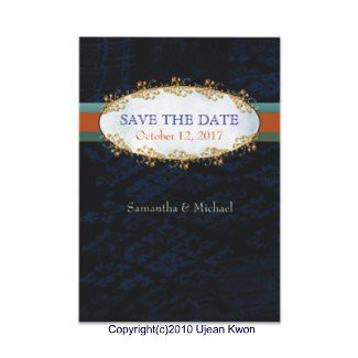 Fancy & Elegant Wedding Save the Date Invitations