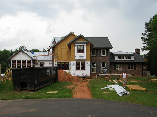 Front of major home remodel