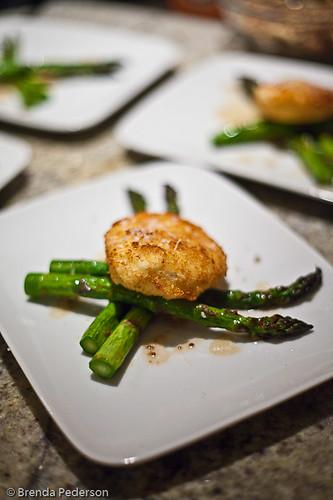Asparagus & Crispy Egg