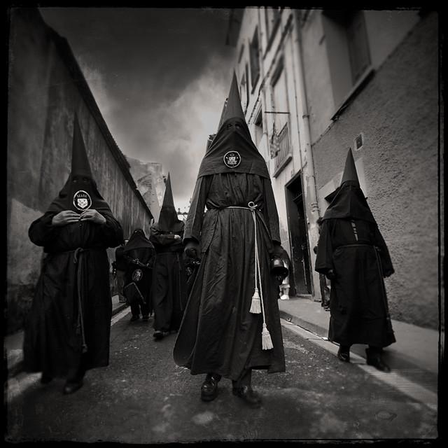 """Blood procession 01 (Perpignan- France- """"Procession de la Sanch"""")"""