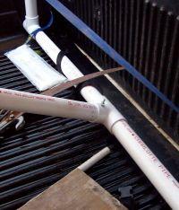 DIY PVC Pickup Canoe Rack
