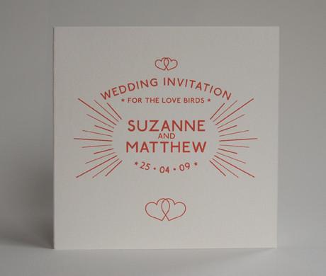 Wedding invitation waterloo