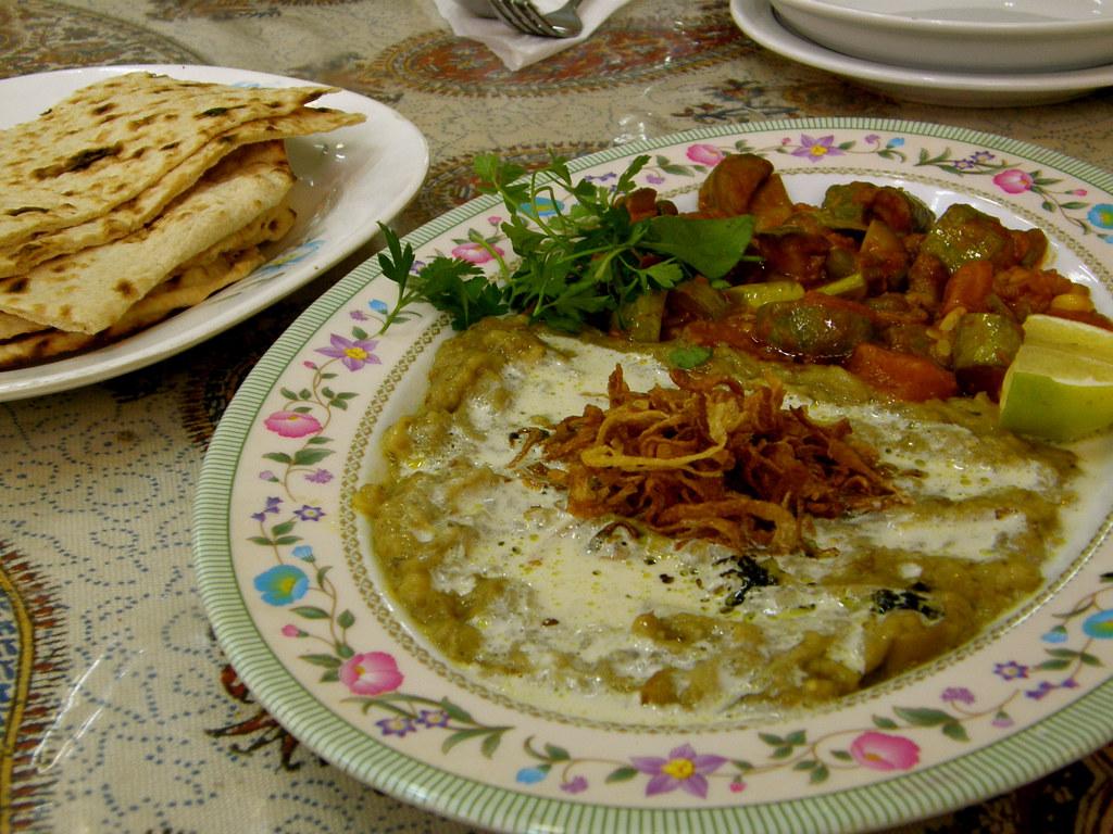 Eggplant Dish, Esfahan