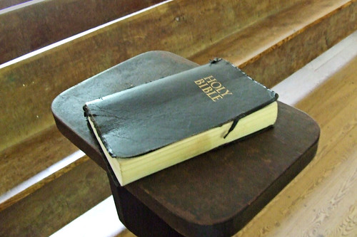 BIBLE IN OLD CHURCH by carl & tracy gossett