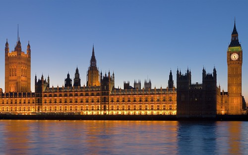 Palace of Westminster - London, England