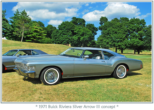 1971 Buick Riviera Silver Arrow