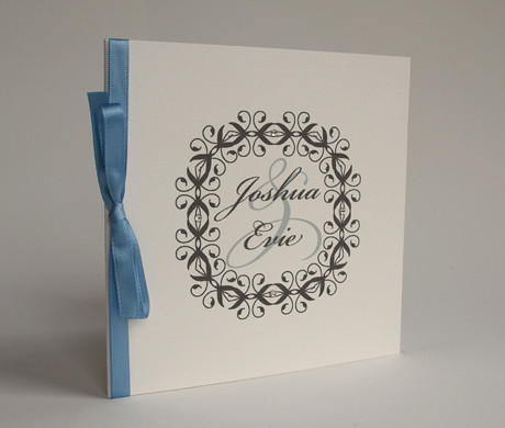 Wedding invitation penny