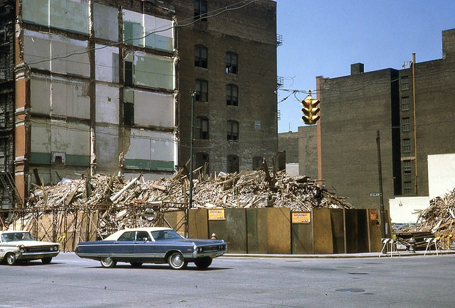 Remains of NYC Bldg Cleve OH June 1971