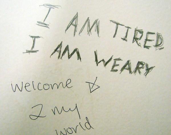 Weary